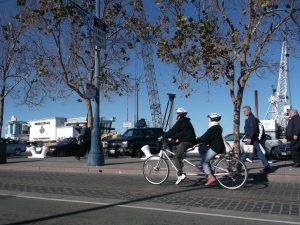 Bikers in San Francisco